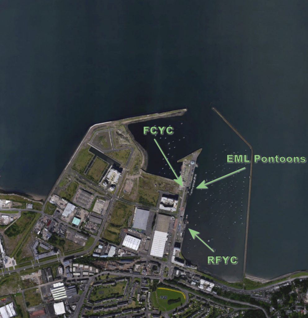 Granton Harbour - (Google Maps) - Click to view full-size image.